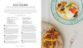 Libro de recetas vegetarianas con deliciosas verduras