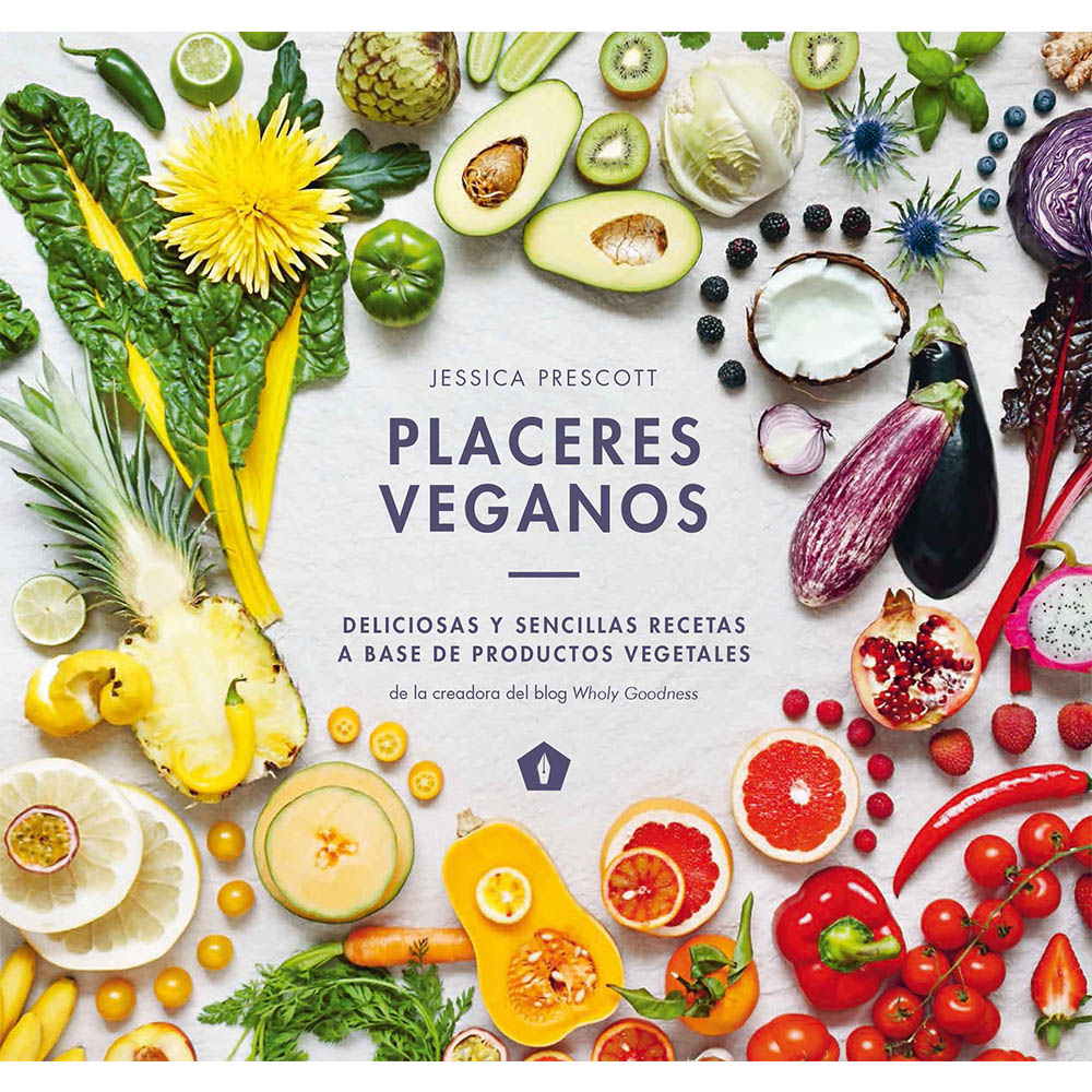 Libro Placeres Veganos. Recetas Veganas